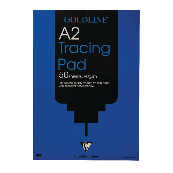 Goldline A2 Professional Tracing Pad 90gsm 50 Sheets GPT1A2