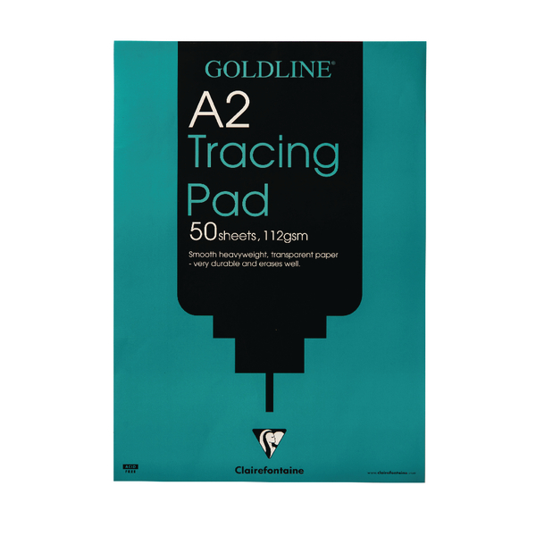 Goldline A2 Heavyweight Tracing Pad 112gsm 50 Sheets GPT3A2