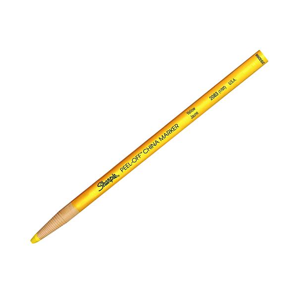 Sharpie China Marker Yellowx(Pack of 12) S0305101