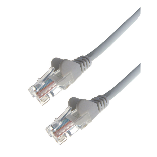 Connekt Gear RJ45 Cat6 Grey 3m Snagless Network Cable 31-0030G