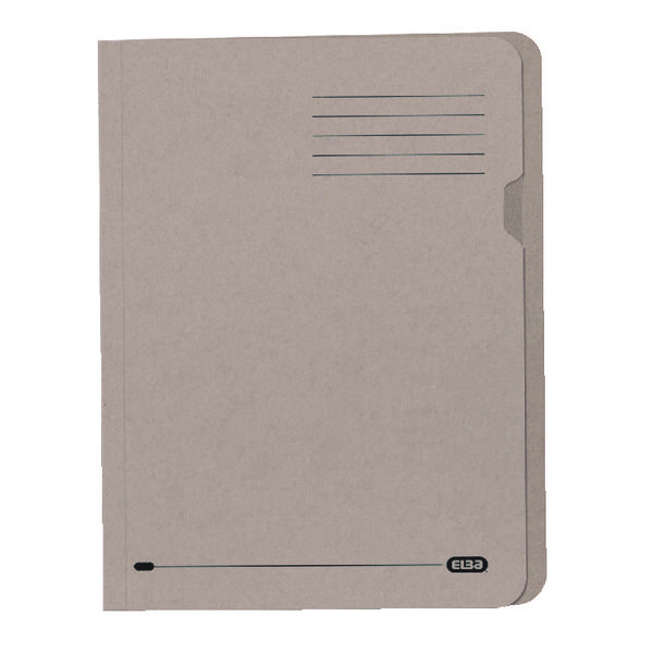 Elba A4 Buff Lightweight Square Cut Folder Pack of 100 100090117