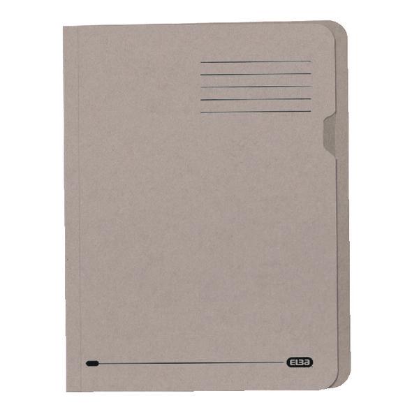 Elba A4 Buff Lightweight Square Cut Folder Pack of 100 100090117