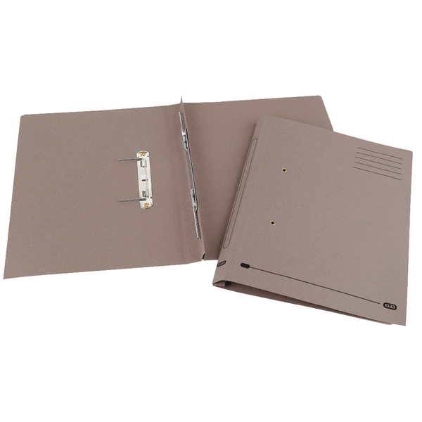 Elba Spirosort Foolscap Buff Spring Files Pack of 25 100090158