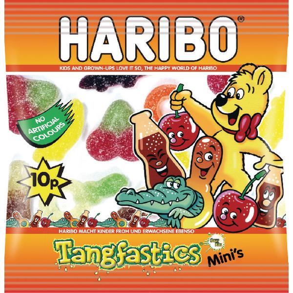 Haribo Tangfastics Small Bag (Pack of 100) 73142