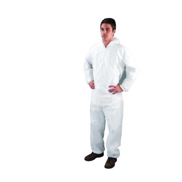 Non-Woven Coverall XXL White DC03