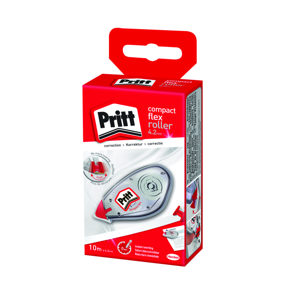 Pritt Compact Correction Roller 4.2mm x 10m Pack of 10 2120452