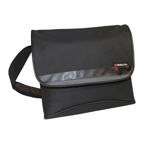 Monolith Nylon Messenger Bag Black 2386