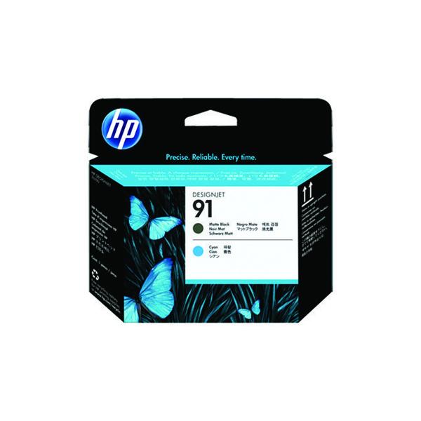 HP 91 Matte Black /Cyan Printhead C9460A