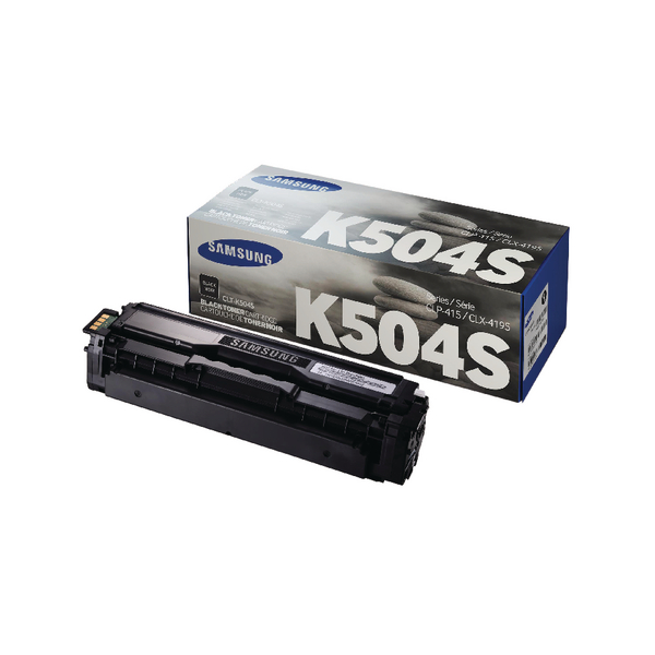Samsung CLT-K504S Black Standard Yield Toner Cartridge SU158A