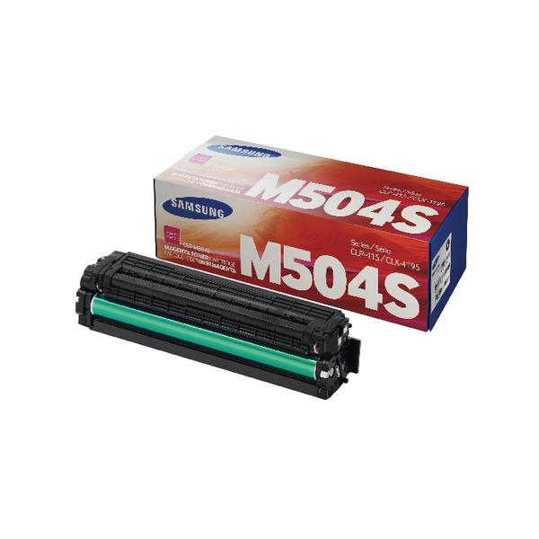Samsung CLT-M504S Magenta Toner Cartridge SU292A