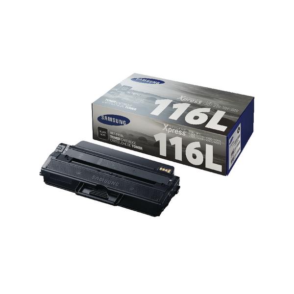 Samsung MLT-D116L Black High Yield Toner Cartridge SU828A