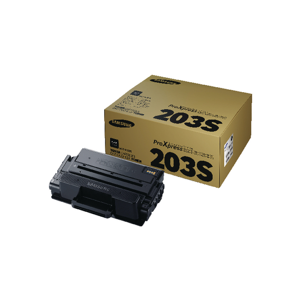 Samsung MLT-D203S Black Standard Yield Toner Cartridge SU907A
