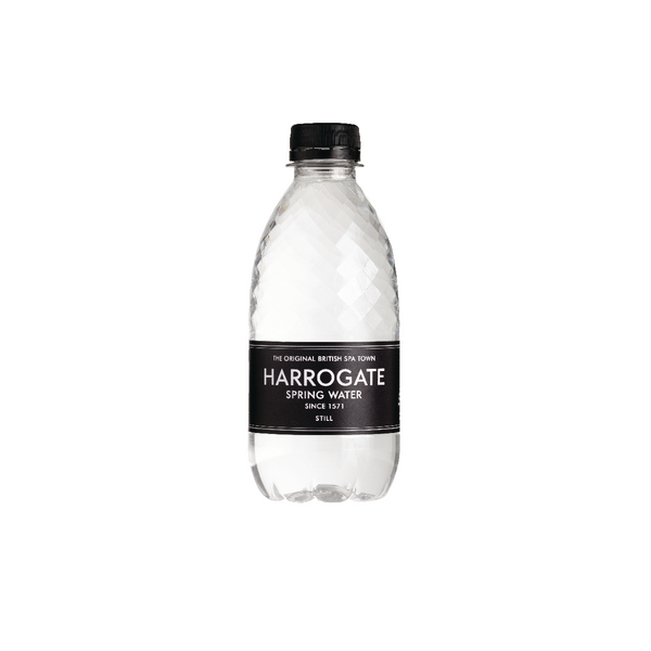 Harrogate Still Spring Water 330ml Plastic Bottle P330301S (Pack of 30)