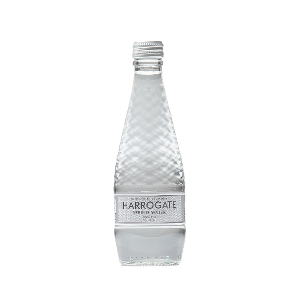 Harrogate Sparkling Spring Water Glass Bottle 330ml G330242C (Pack of 24)