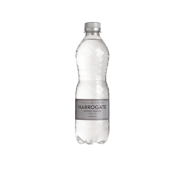 Harrogate Sparkling Spring Water 500ml Plastic Bottle G750121S (Pack of 24)