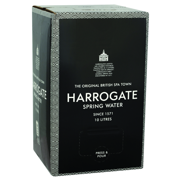Harrogate Still Spring Water Bag in a Box of 10 Litre Box of 1015