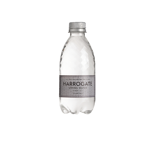 Harrogate Sparkling Spring Water 330ml Plastic Bottle P330302C (Pack of 30)