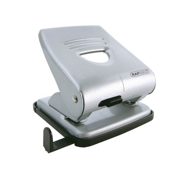 Rapesco 827 Hole Punch Silver 1023