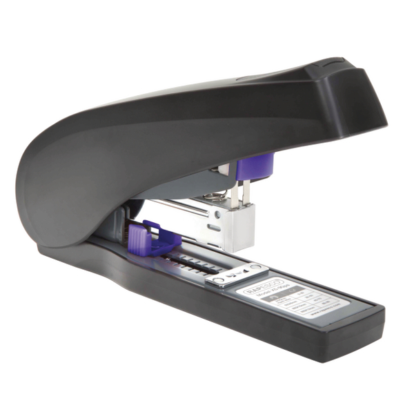 Rapesco X5-90ps Less Effort Heavy Duty Stapler Black and Purple