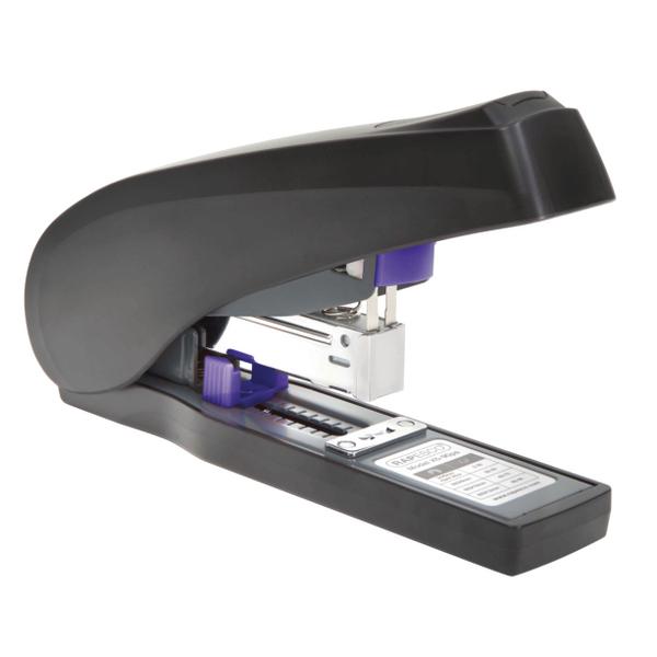 Rapesco X5-90ps Less Effort Heavy Duty Stapler Black and Purple