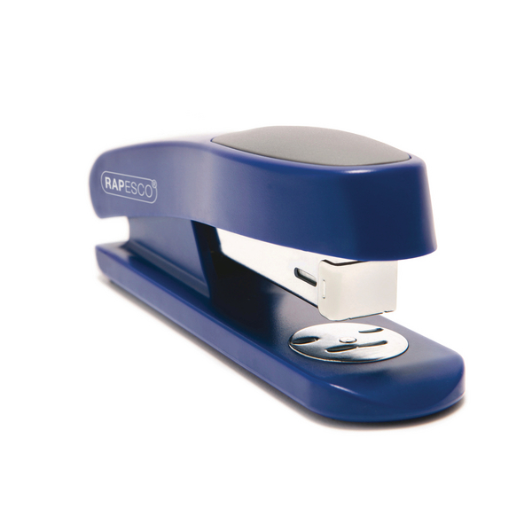 Rapesco Sting Ray Stapler Half Strip Blue R72660L3