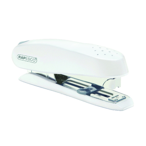 Rapesco ECO Spinna Executive Heavy Duty Stapler White 1390