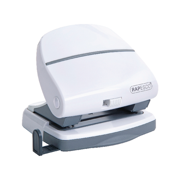 Rapesco P30 2 Hole Punch White 1274