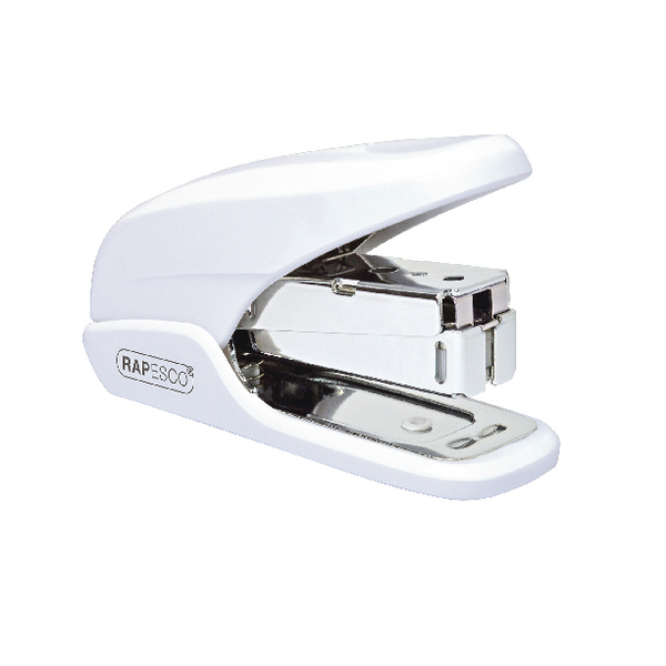Rapesco X5 Mini White Less Effort Stapler