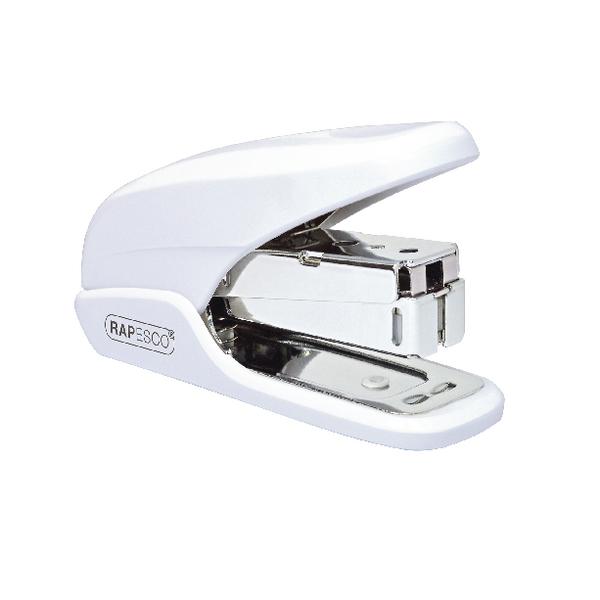 Rapesco X5 Mini White Less Effort Stapler