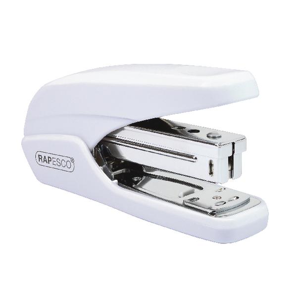 Rapesco X5 25ps White Less Effort Stapler