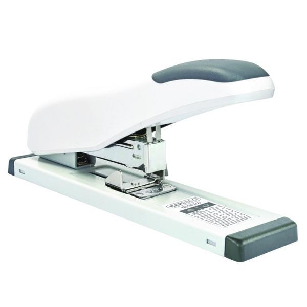 Rapesco ECO HD-100 Heavy Duty Stapler Soft White