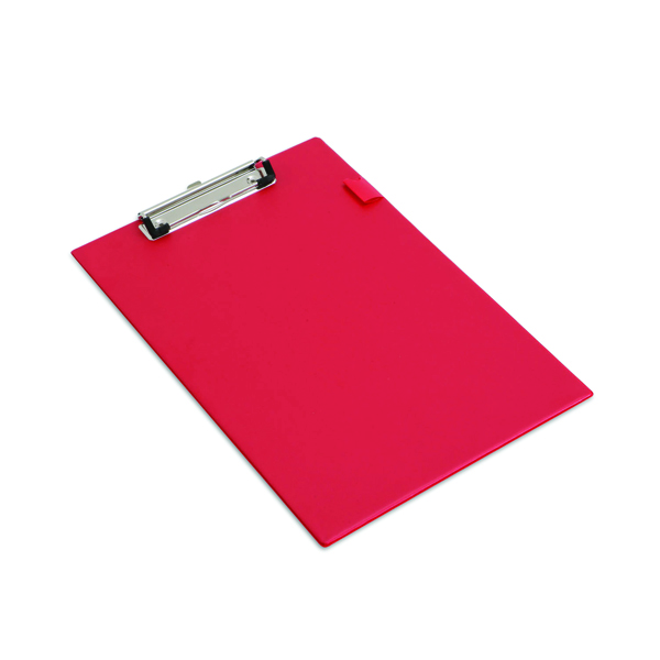 Rapesco Standard Clipboard Foolscap Red VSTCBOR3