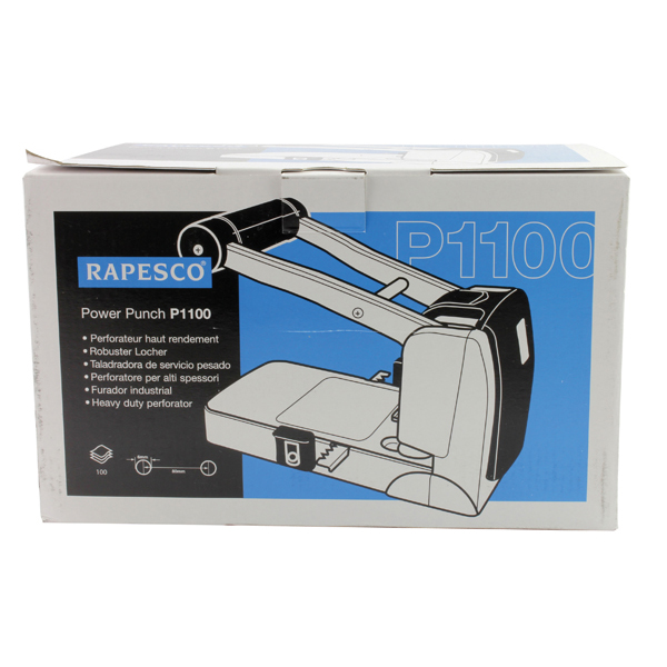 Rapesco P1100 Heavy Duty Hole Punch 0247