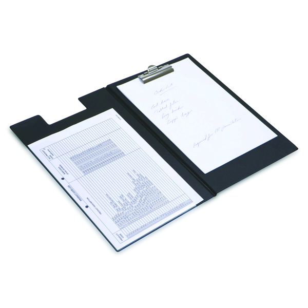 Rapesco Executive Clipboard Foolscap Black CD1L00B2