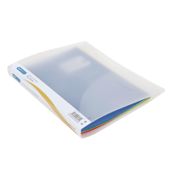 Rapesco 2 Ring Binder 25mm Clear (Pack of 10) 0715