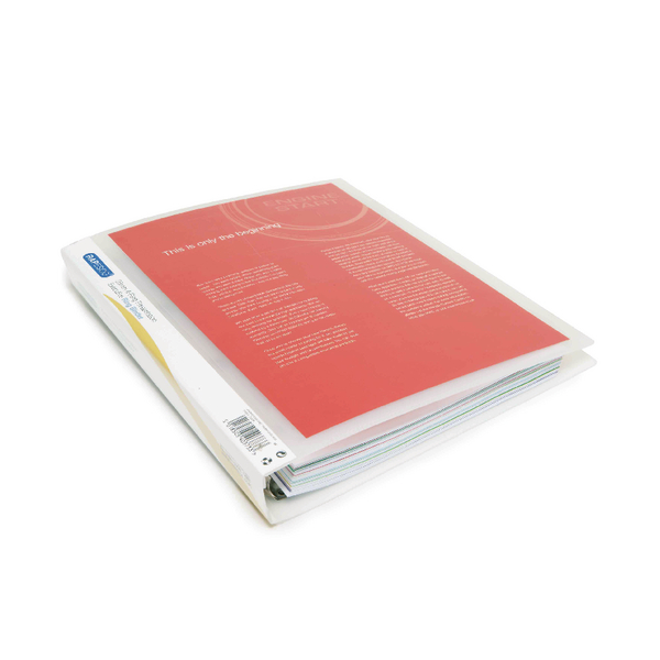 Rapesco Presentation 4 A4 Ring Binder 25mm Clear (Pack of 10) 0717