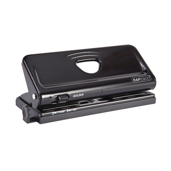 Rapesco Diary Punch 6 Hole Black PF66POB1