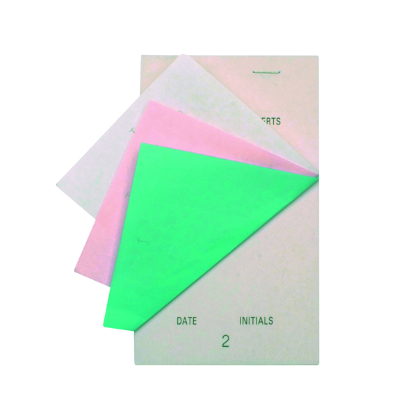 Prestige White Large Triplicate Service Pads (Pack of 50) PAD200