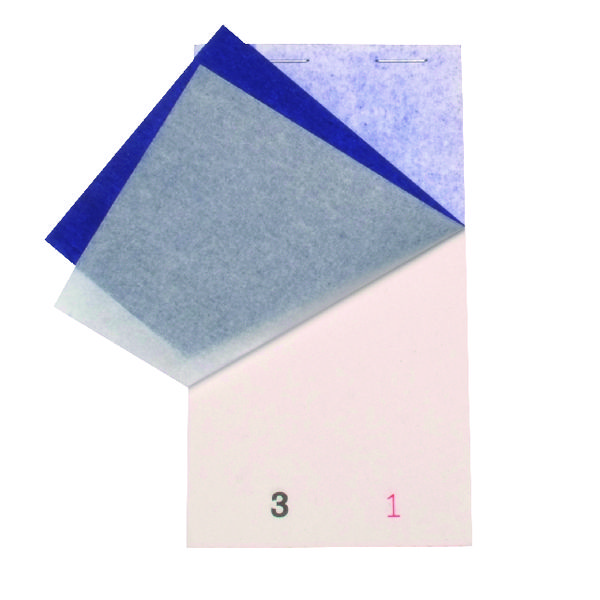 Whitebox White Small Duplicate Restaurant Pads (Pack of 50) Pad 15