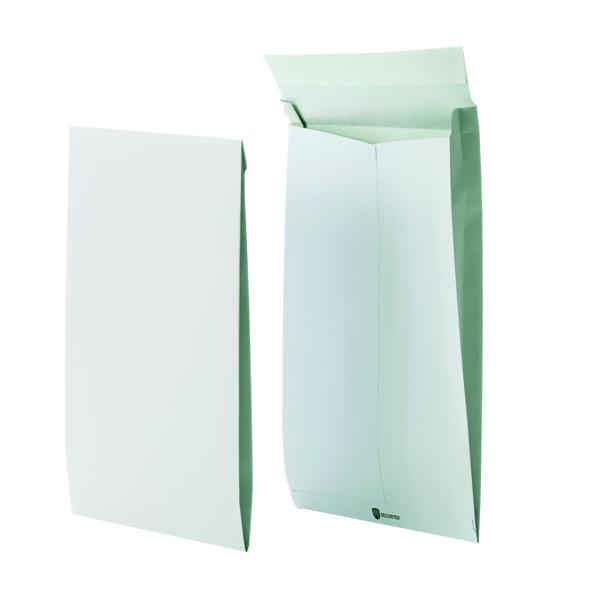 Securitex Tear Resistant C4 38mm Gusset Envelope Pocket 130gsm White (Pack of 50) 8350206