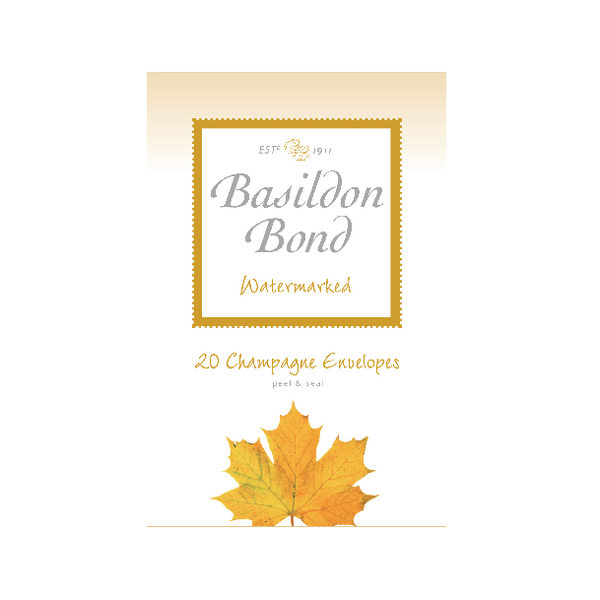 Basildon Bond Champagne Envelope 95 x 143mm Pack of 200 100080069