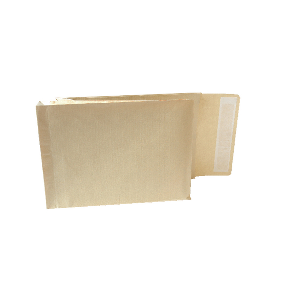 New Guardian Armour Gusset C4 Envelopes Manilla 130gsm Peel and Seal (Pack of 100) A28113