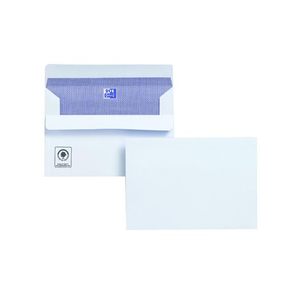 Plus Fabric C6 Envelope 110gsm Self Seal White (Pack of 500) F23470