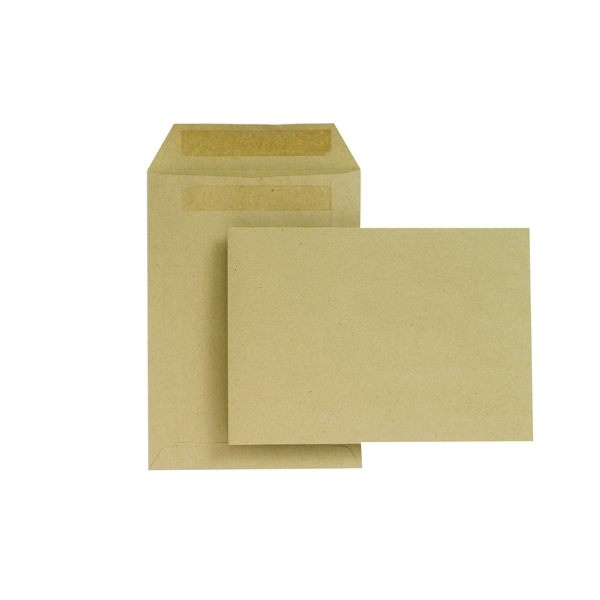 New Guardian C5 Envelopes 229x162mm 80gsm Manilla Self Seal (Pack of 500) H26211