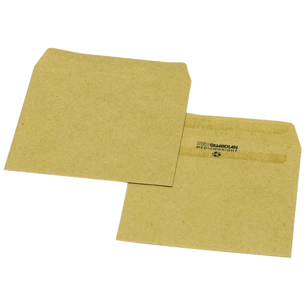 New Guardian Wage Envelope 108x102mm Plain 80gsm Manilla Self Seal (Pack of 1000) L20219