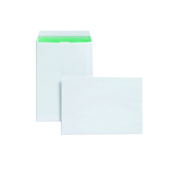 Basildon Bond C4 Envelopes 120gsm Peel and Seal White (Pack of 50) L80281