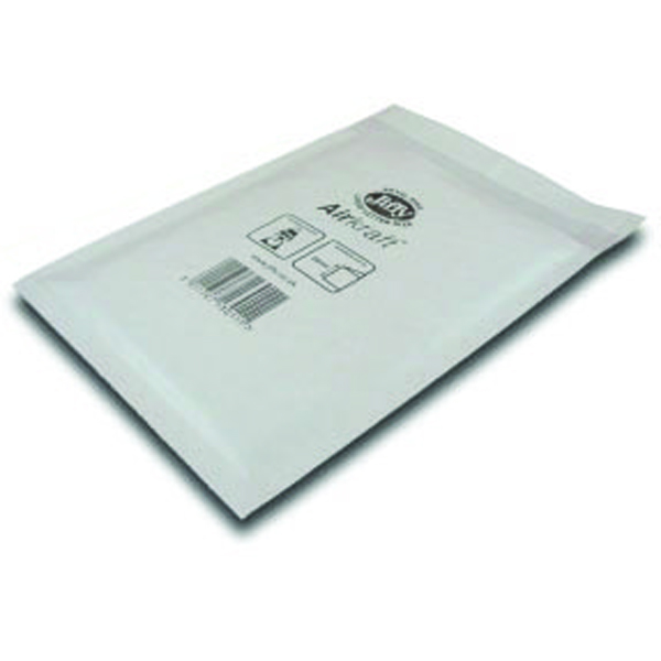 Jiffy 290x445mm White AirKraft Bag (Pack of 50) JL-6