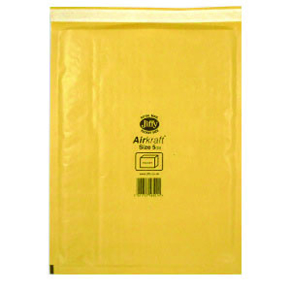 Jiffy AirKraft Mailer Size 5 260x345mm (Pack of 10) mmUL04605