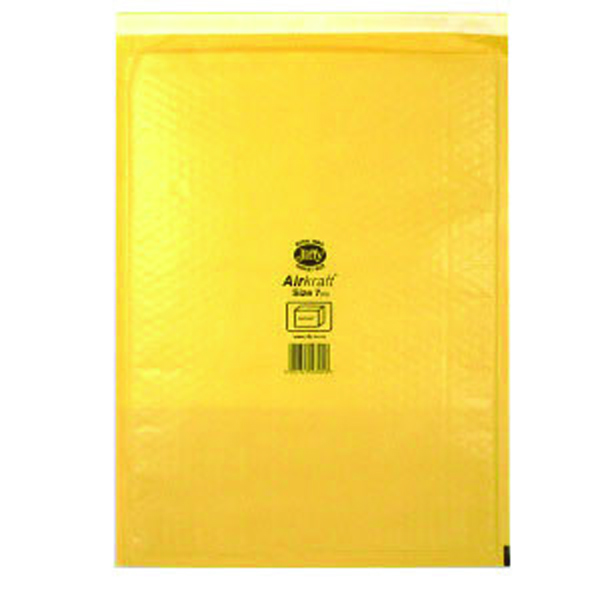 Jiffy AirKraft Mailer Size 7 340x445mm Gold GO-7 (Pack of 5) MMUL04606