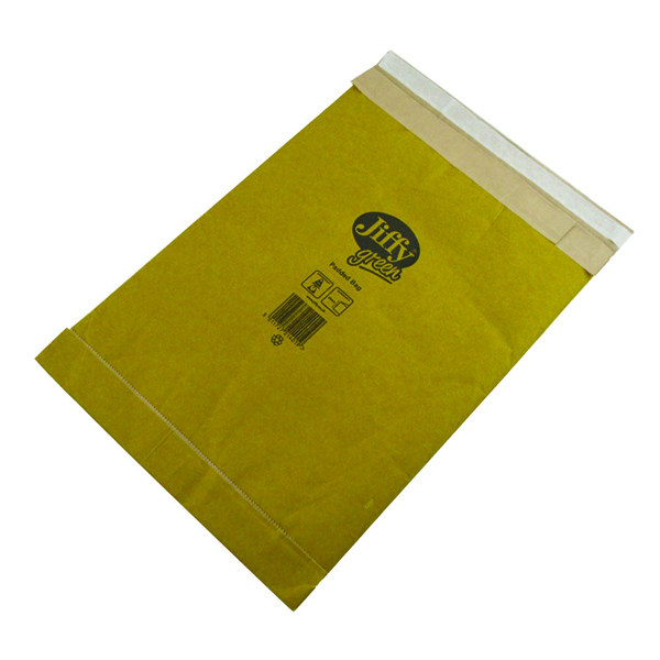 Jiffy Padded Bag Size 3 195x343mm Gold (Pack of 10) 1217